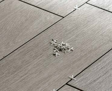 Floor-tile and tile spacers