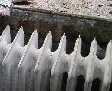 Old, obsolete radiator