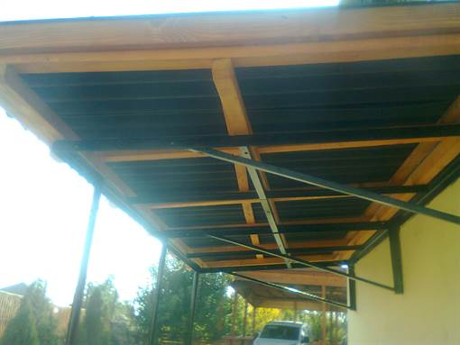 metal structured canopy