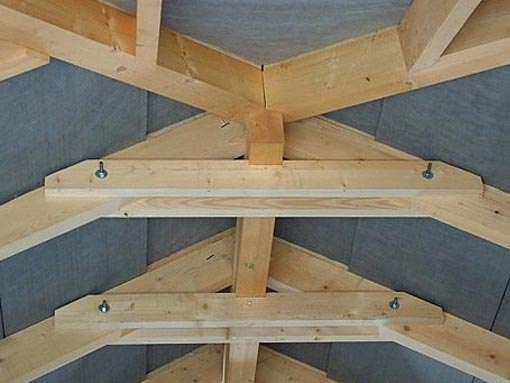 Connection and jointing of roof rafters